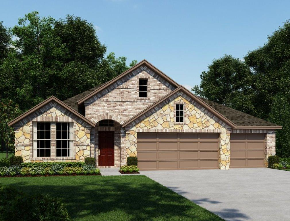 Comal 2619 New Home Plan In San Antonio By Ashton Woods