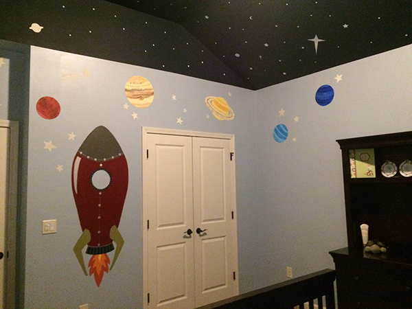 Out of This World Kid's Bedroom Design