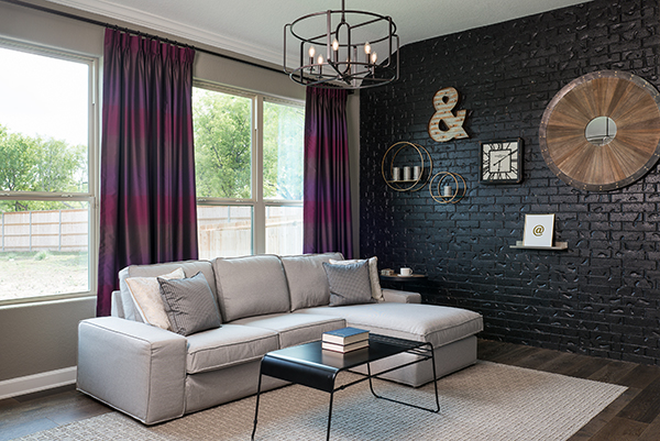 Home Design Trends: Black Painted Rooms