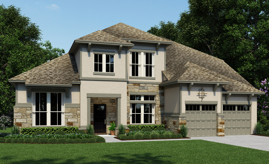 Wesley 416 New Home Plan In Houston By Ashton Woods