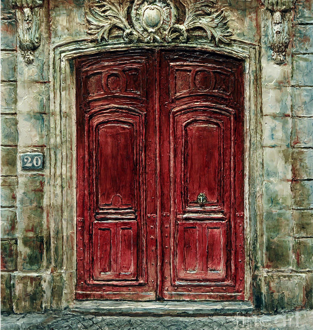 Parisian Door #20