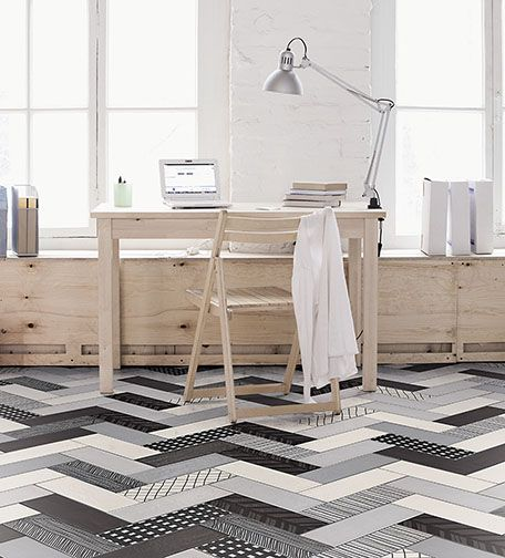 Patterned Tile: A Fresh Take On An Old Idea