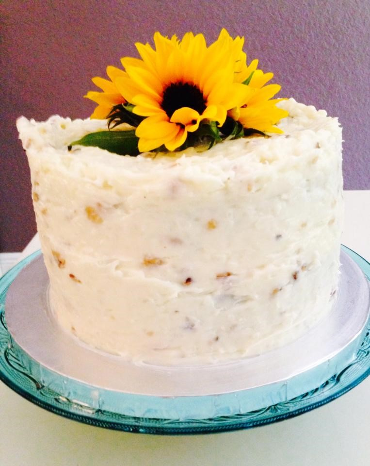 Pumpkin Carrot Pineapple Cake