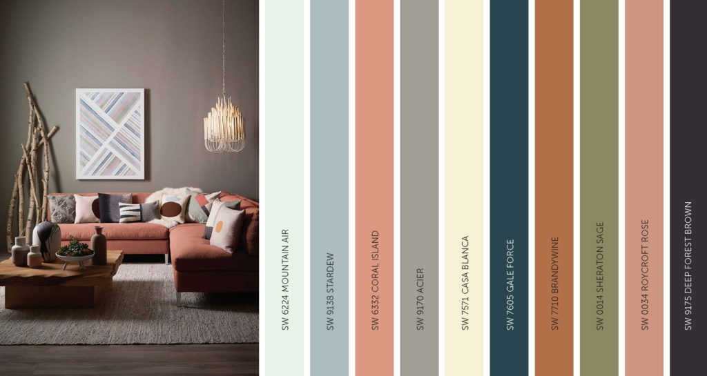 sherwin williams 2017 paint color forecast holistic