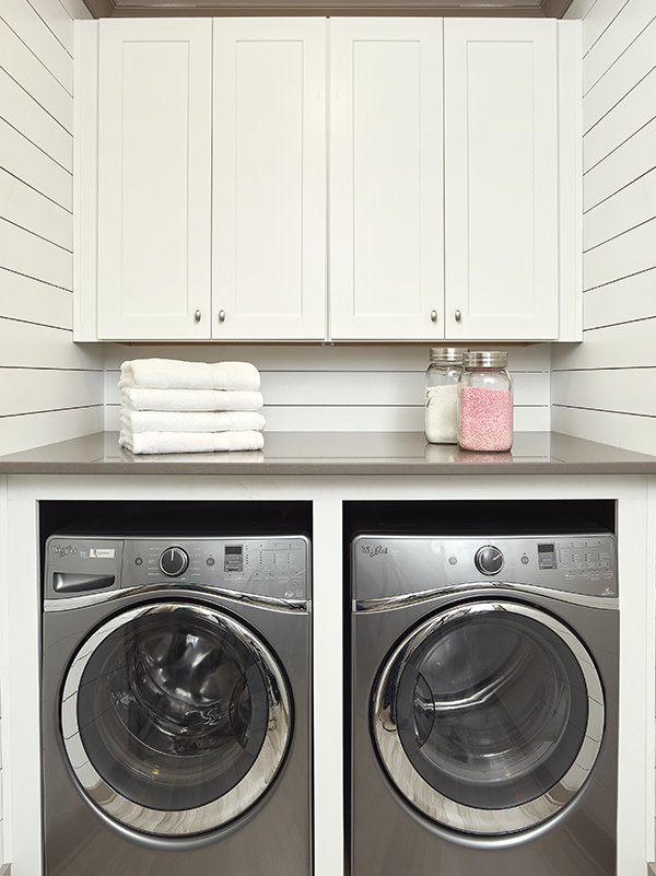 shiplap laundry room Charleston