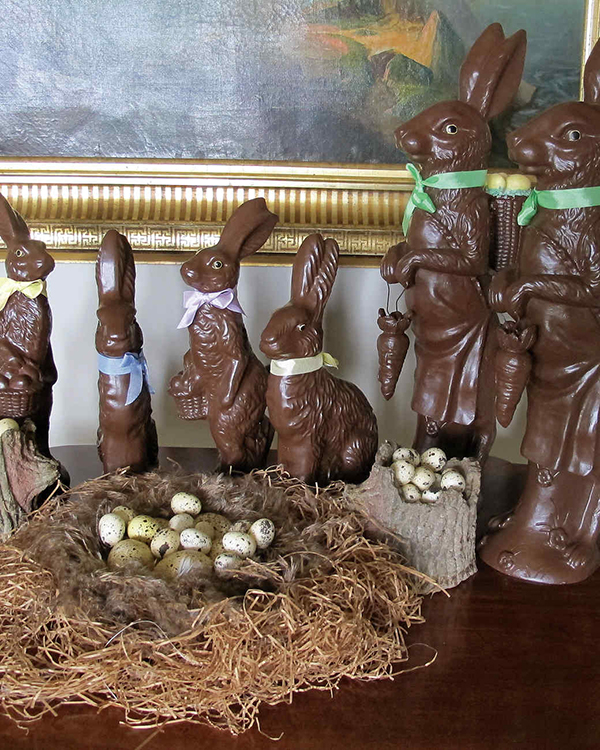 Martha Stewart Easter bunny decor