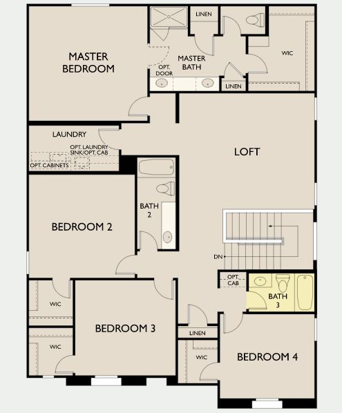 Stafford,  - Second Floor Options