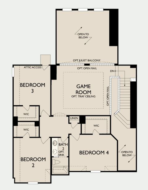 Bethany,  - Second Floor Options