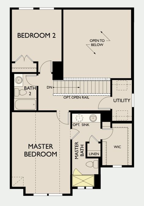 Bedford,  - Second Floor Options