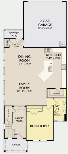 Falcon,  - First Floor Options