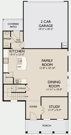 Cardinal,  - First Floor Options