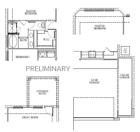 Andrews,  - First Floor Options