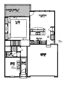The Holston,  - First Floor Options