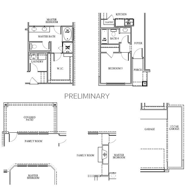 Dawson, Richmond - First Floor Options