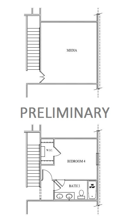 Dawson, Richmond - Second Floor Options