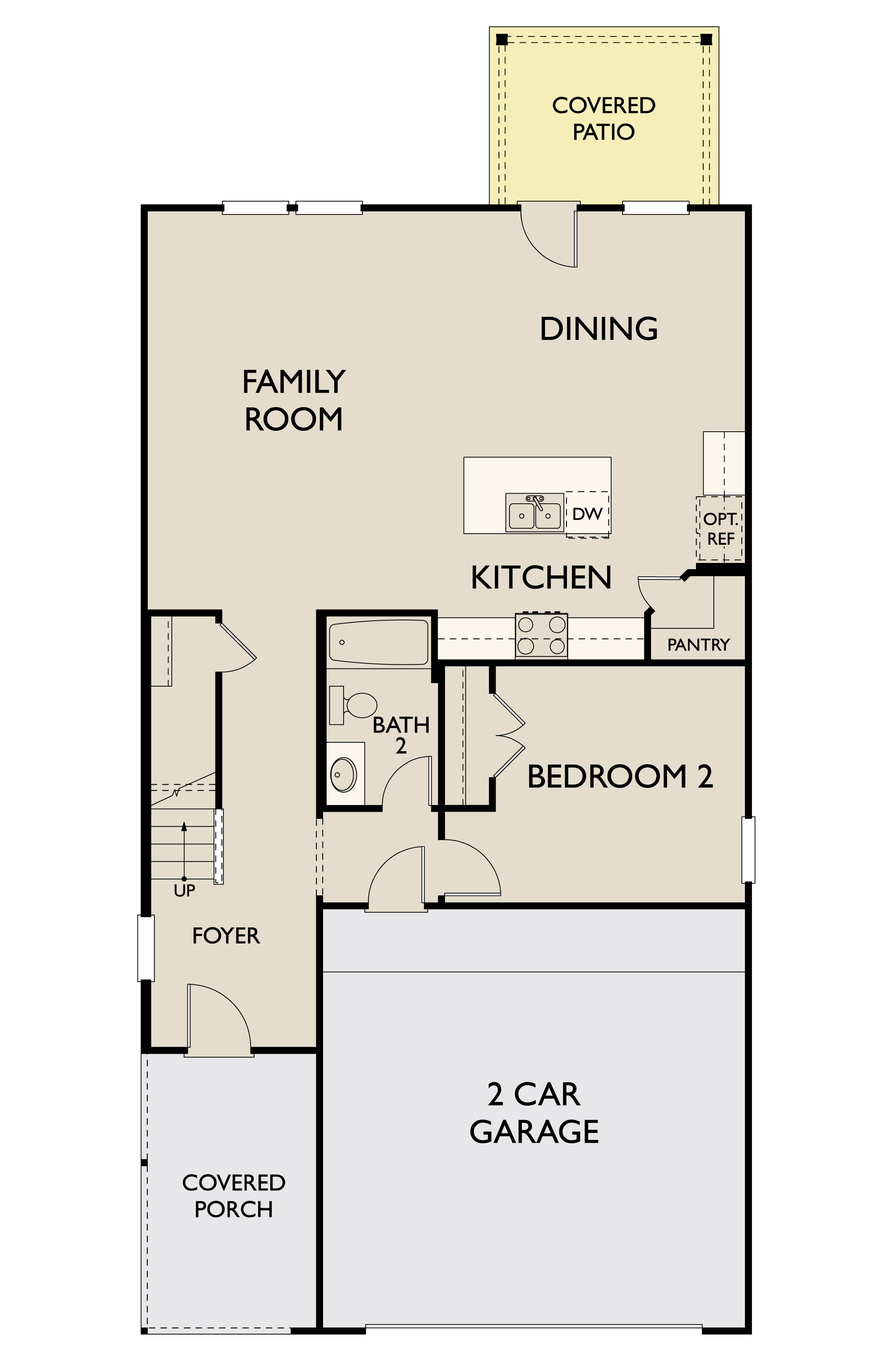 Russell,  - First Floor