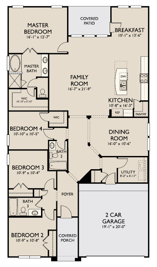 Avery,  - First Floor