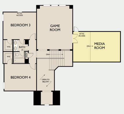Kensington,  - Second Floor B