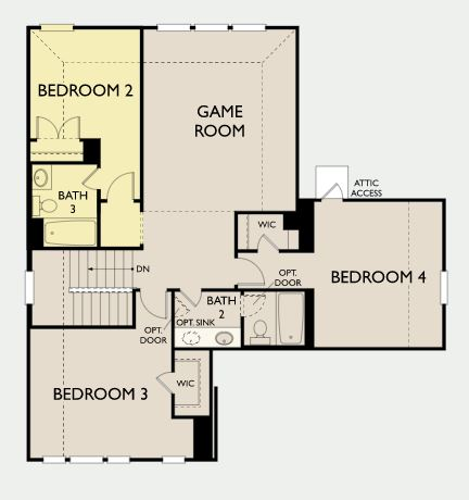 Coleman,  - Second Floor Options