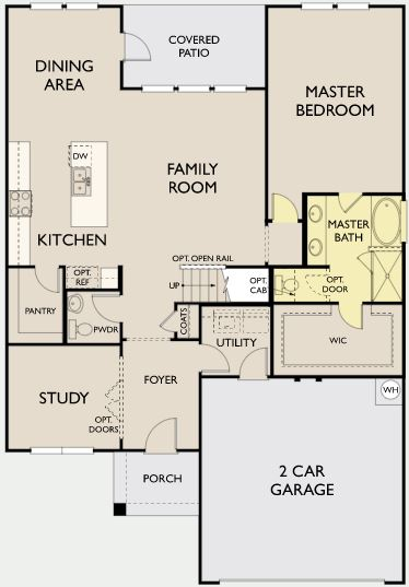 Winchester,  - First Floor Options