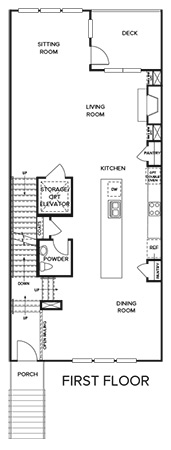 Addison, Sandy Springs - First Floor