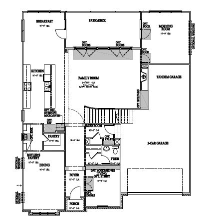 The Berkshire at Amberly, Cary - First Floor
