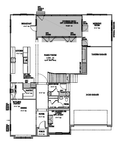 The Berkshire at Amberly, Cary - First Floor Options
