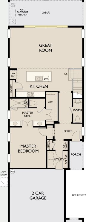 Coastal,  - First Floor Options