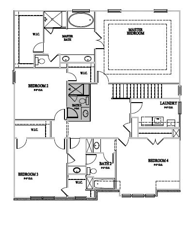 The Galloway at Amberly, Cary - Second Floor Options