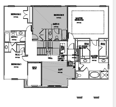 The Greenville at Pinebrook Hills, Raleigh - Second Floor Options