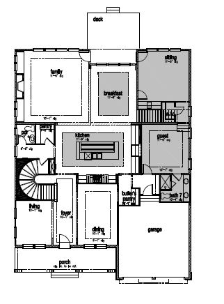 The Greenwood, Cary - First Floor Options