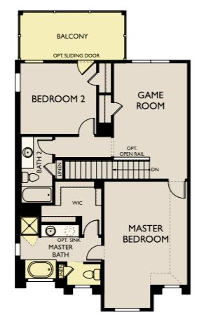 Richmond,  - Second Floor Options