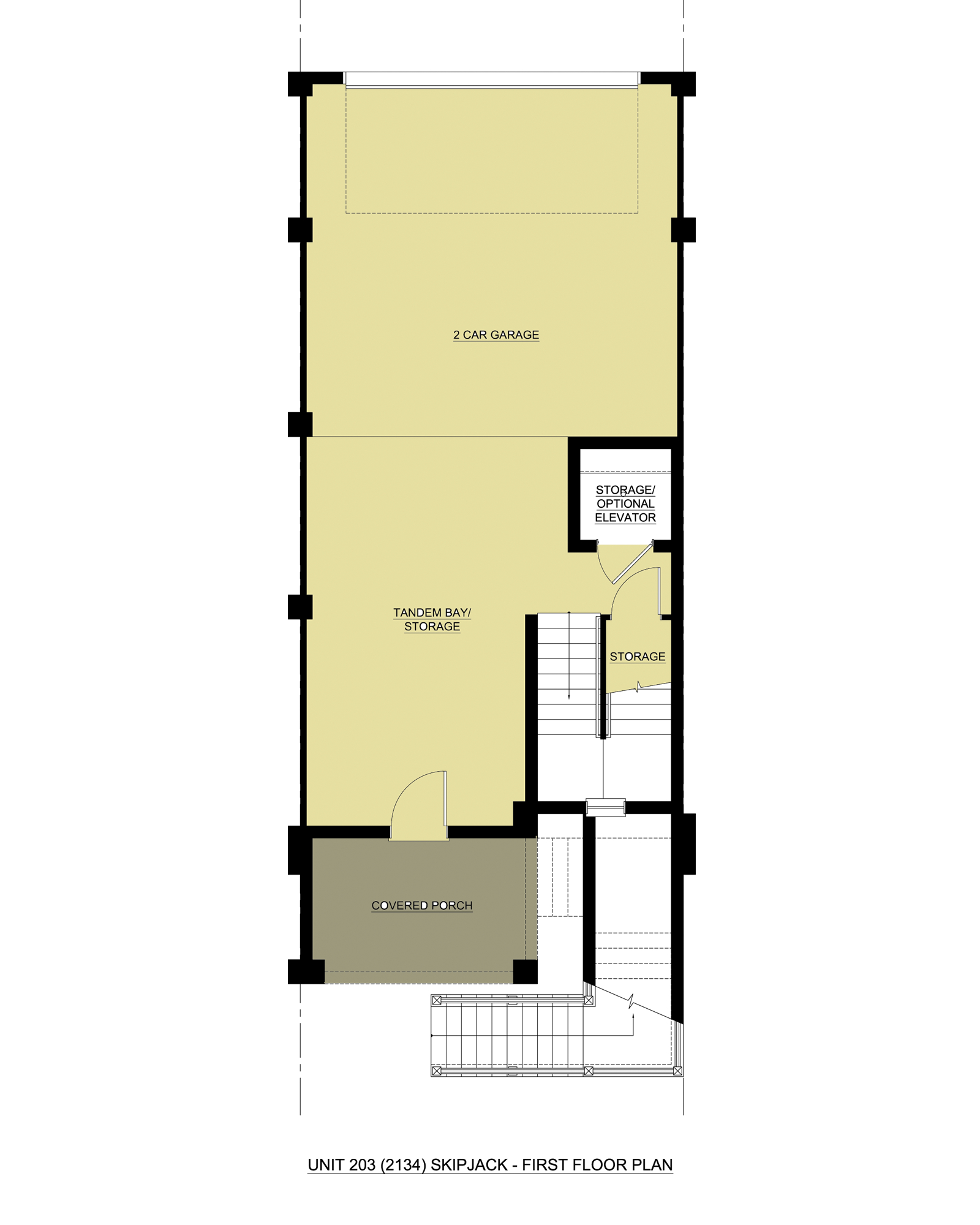 Skipjack w/ Loft,  - First Floor