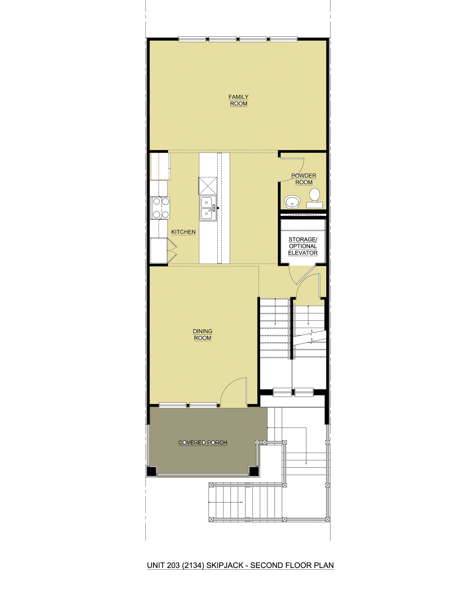 Skipjack w/ Loft,  - Second Floor