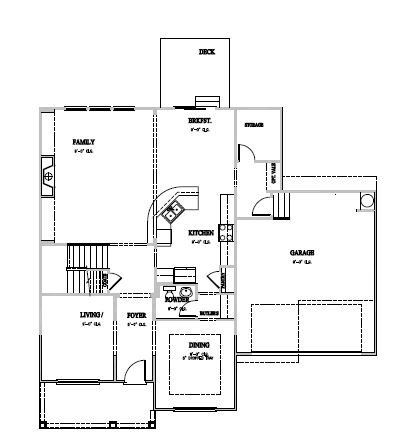 The Wheylon at Kidlaire Crossing, Cary - First Floor