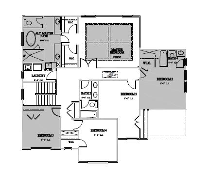 The Wheylon at Kidlaire Crossing, Cary - Second Floor Options