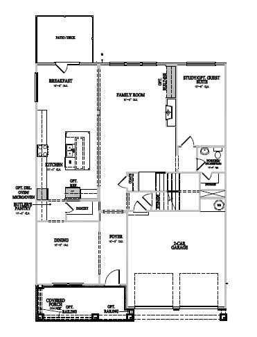 The Winslow at Amberly, Cary - First Floor