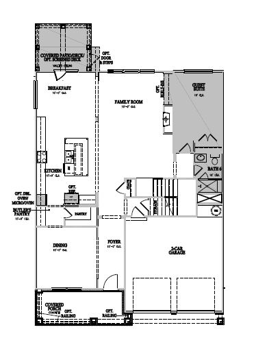 The Winslow at Amberly, Cary - First Floor Options