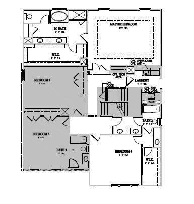 The Winslow at Amberly, Cary - Second Floor Options