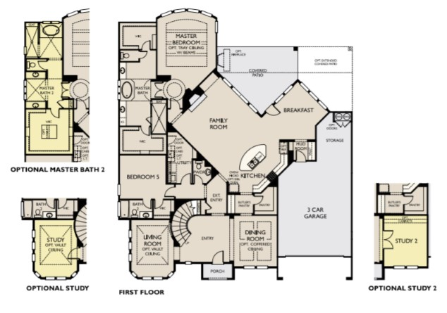 Bellagio I, Dripping Springs - First Floor Options