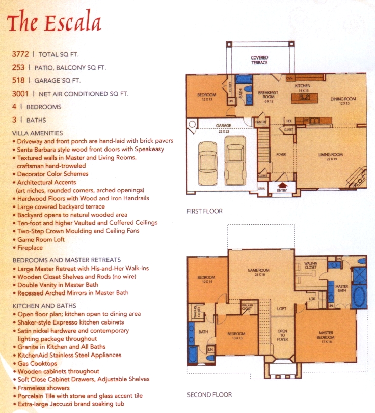 Escala,  - First Floor