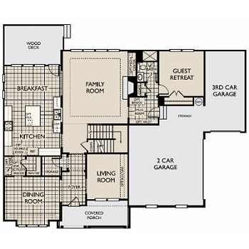 The Chessington Ii 3882 New Home Plan In Raleigh By Ashton Woods