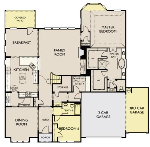 Laurel,  - First Floor Options