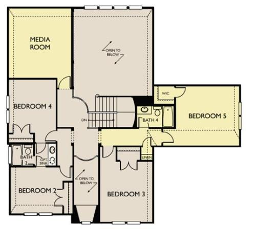 Laurel,  - Second Floor Options