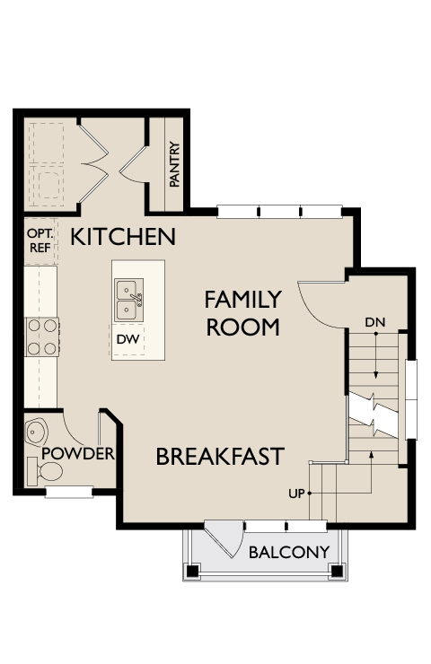 Moultrie, Mt Pleasant - First Floor