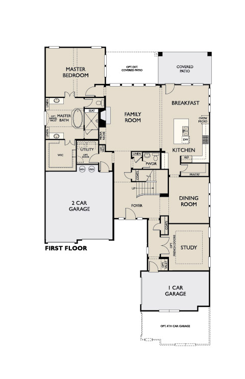 Seaforth, Frisco - First Floor