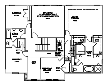 The Greenville, Raleigh - Second Floor Options