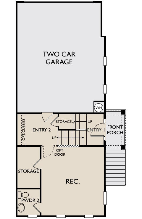 The Thornton,  - First Floor Options