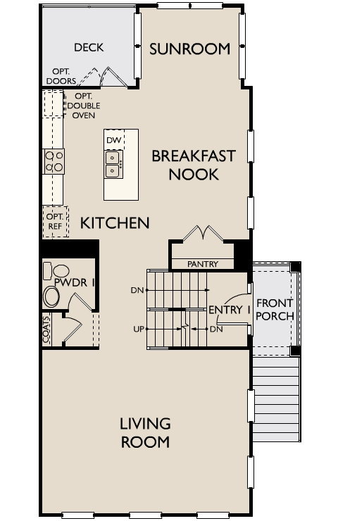The Thornton,  - Second Floor Options