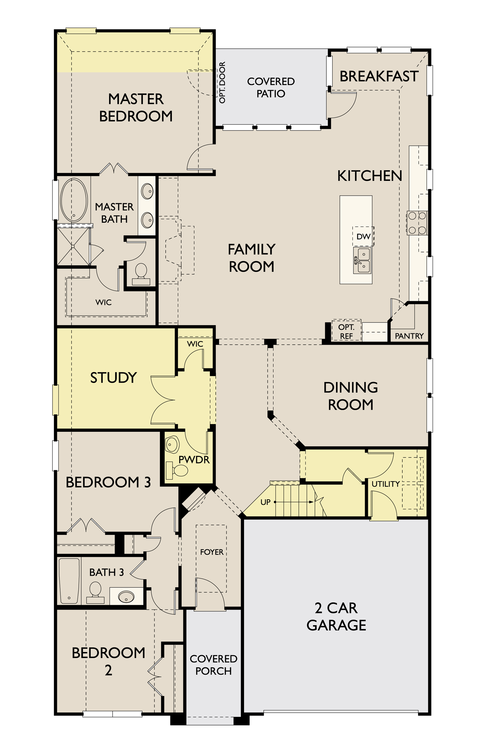 Addison,  - First Floor